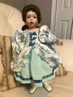 Ashton Drake Porcelain Doll Artist Wendy Lawson 2162FB Floral Dress 1993