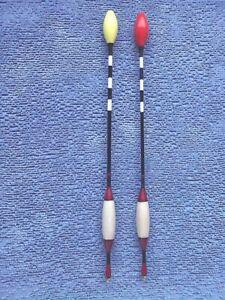 set of two Handmade driftbeater Fishing Floats