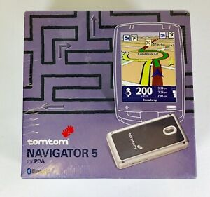 TOMTOM Navigator 5: With Lifetime Map Updates, NEW Factory Sealed