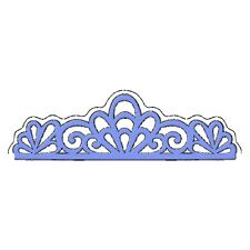 Sweet Dixie Die Scroll Edge Cut Emboss Stencil border lace cardmaking scrapbook