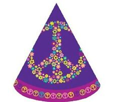 **HIPPY**   Pack of 16 - Groovy Girl Party Hats!