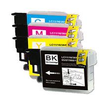 4 Pack BCMY Ink Set For Brother LC61 MFC J265w J270w J410w J415w J615W J630W
