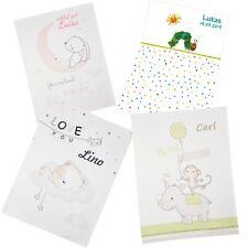 Wolimbo SoftPeach Babydecke mit Namen bestickt Kinderdecke individualisiert