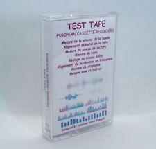 TTE-003FR / TEST TAPE - EUROPEAN CASSETTE RECORDERS nouveau