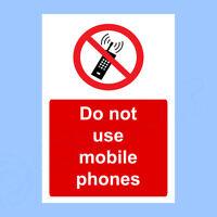 mangiare o bere 4 non fumare Adesivi Allacciare le cinture di sicurezza 65 x 65 mm-MATT