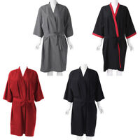 Salon Client Gown Lightweight Quick-dry Kimono Style Hair Gown for Clients