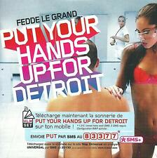 FEDDE LE GRAND - Put your hands up for Detroit - 4 Tracks