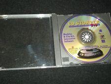 CD STOMPER <>MODELES & CLIP ART,INTERACTIVE SOFTWARE ~Can. CD-R (1997)  °
