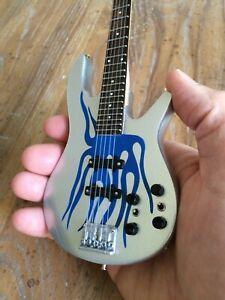Robert Trujillo Metallica Collectible Blue Flame Bass Replica 1:4 Scale Model