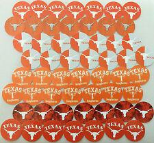 "SET of 56- 1"" PRECUT ""UNIVERSITY OF TEXAS LONGHORNS"" Bottlecap images."