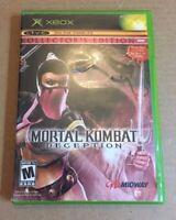 Mortal Kombat: Deception -- Kollector's Edition (Microsoft Xbox, 2004) NO MANUAL