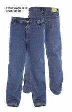 Jeans da uomo blu corto taglia 34