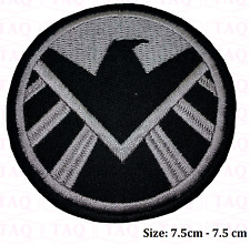 S.H.I.E.L.D. IRON-MAN Marvel SHIELD PATCH Embroidered Iron on / Sew on PATCH