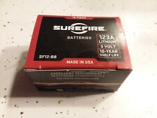SureFire CR123A Lithium Batteries SF12-BB, Box of 12, Brand NEW