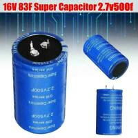 Capacitor 16V 83F Super Capacitance 2.7V500F For Auto Car Rectifier New O4R D8C0