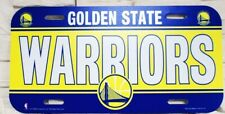 Golden State Warriors License Logo Plate Sign 11 13/16in, NBA Basketball New