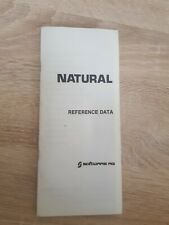 NATURAL Reference Data Software AG Commands Error Messages Transfer Rules etc.