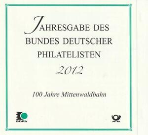 2951 mit ESST in Jahresausgabe des BDPh 2012 - Mittenwaldbahn