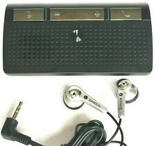 Motorola T225 Universal Bluetooth Hands Free In-Car Speakerphone & Ear Buds