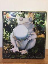 New Cedar Creek Collection Frog Shiny Gazing Ball Garden Outdoor Statue Ornament