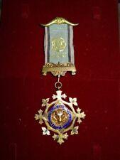 Vintage 1927 Sterling Silver & Enamel RAOB Medal Alexandra Lodge 51