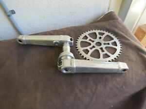 TECHNIQUE 191m  AMERICAN MADE CRANK SPINDLE 44 BMX MISSING CUP BEARING
