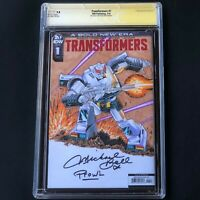 Transformers #1 💥 ORIGINAL PROWL SKETCH + 3X SIGNED 💥 CGC SS 9.8 **Must See**