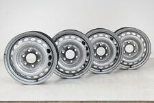 VW Crafter Stahlfelgen silber 6,5 x 16 Zoll 6x130 ET 62 Felgen KBA 44544