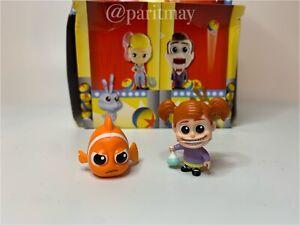 New!!! Mattel Pixar All-Star Rivals Mystery Minis Blind Bag : DARLA VS NEMO