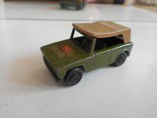 Matchbox Superfast Field Car in Army Green