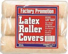 "New Pack (3) Linzer B2383 9"" X 3/8"" Paint Roller Cover Naps 6883201"