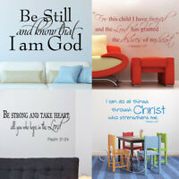 Bible Verse Scripture Wall Decals Stencils Stickers Religious Art For Church