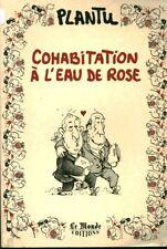 Livre cohabitation à l'eau de rose Plantu book