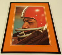 Jim Brown closeup Framed 11x14 Photo Display Cleveland Browns