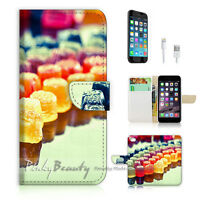 ( For iPhone 6 Plus / iPhone 6S Plus ) Case Cover Colourful Sweets P0538