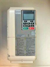 Yaskawa VFD A1000 CIMR-AU2A0004FAA, 3/4HP, 3-Phase, 200-240V