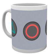Los botones de PlayStation PS1 PS3 Retro Taza de Té Café Taza Tazas