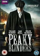 PEAKY BLINDERS - SEASON 1 (DVD, 2-Discs, Action, Thriller, Mystery) R2 PAL