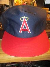 NWOT Original 80's CALIFORNIA ANGELS Snapback Hat Md/Lg U.I.I. Anaheim