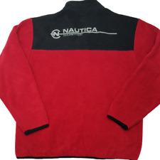 Nautica Competition Men's Medium Pullover Fleece Sweater Polyester