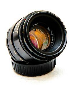 Helios-44-2  f/2-58mm  Preset M42 Screw-Mount Lens.