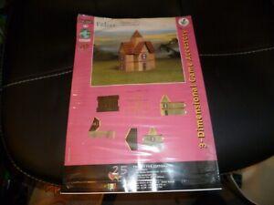 25 Edition 25mm Fantasy Cardboard buildings new