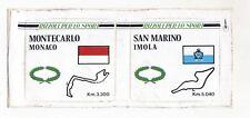 Adesivo Formula 1 MONTECARLO Monaco SAN MARINO RIZZOLI per lo sport F1 sticker