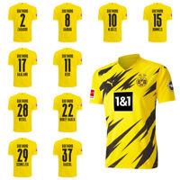 Puma Borussia Dortmund BVB Heimtrikot 2020 2021 Home Trikot Kinder Spieler Name