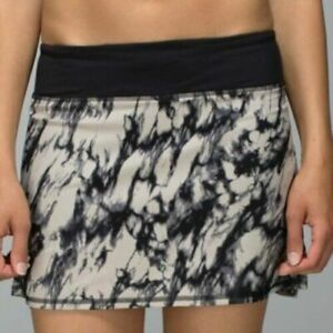 LULULEMON NEW W/TAG MOST POPULAR HARD-TO-FIND DISCONTINUED Pace-Setter Skirt 4