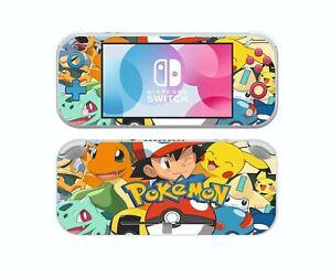 Nintendo Switch LITE POKEMON Sticker Game Skins Decals cover