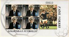 Kosovo Stamps 2018. The football Legend - Fadil Vokrri. Souvenir Sheet MNH