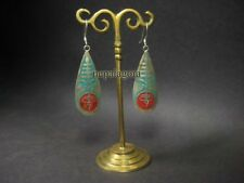 Eye Emboss Tibetan Silver Fashion Dangle Earrings E3101 Buy 1 Get 1 Free Buddha