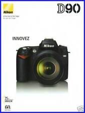 NIKON brochure pub. D90 édition 08/2008 en français