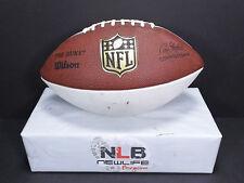 "Wilson NFL ""The Duke"" Autograph Football WTF1192 JBS48 (Player Unknown #83)"